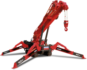 Used UNIC Spider Cranes for Sale